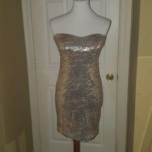 Arden B sequin dress size S